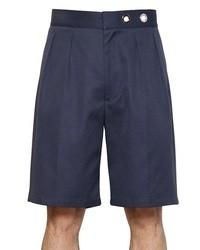 Salvatore Ferragamo Cotton Drill Shorts