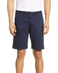 Ted Baker London Shorlid Slim Fit Geo Print Chino Shorts