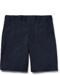 Lanvin Slim Fit Cotton Twill Bermuda Shorts
