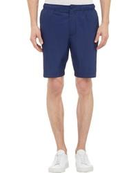 Jil Sander Tech Taffeta Shorts Blue