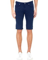 Barneys New York Westbrook Xo X Naked Famous Crossweave Jeans Shorts