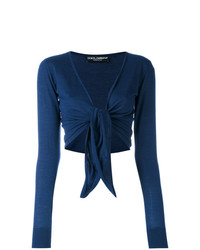 Dolce & Gabbana Front Tie Cardigan