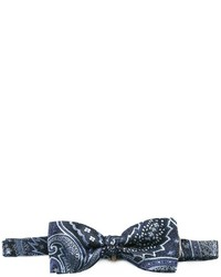 Etro Embroidered Bow Tie