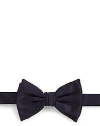 Giorgio Armani Pre Tied Silk Satin Bow Tie