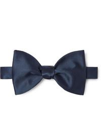 Maximilian Mogg Self Tie Silk Satin Bow Tie
