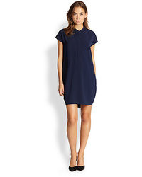 Vince Cap Sleeve Shift Dress