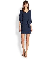 Diane von Furstenberg Tanna Crepe Silk Dress