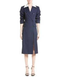 Michael Kors Michl Kors Wool Silk Coat Dress