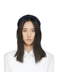 Sophie Buhai Navy Silk Twisted Headband