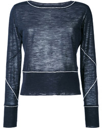 Dondup Piping Detailing Longsleeved T Shirt