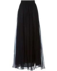 Brunello Cucinelli Layered Maxi Skirt