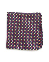 Lazyjack Press Chick Magnet Silk Pocket Square