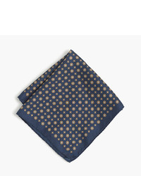 J.Crew Silk Pocket Square In Alternating Foulard