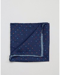 Original Penguin Silk Pocket Square Multi Color Spots