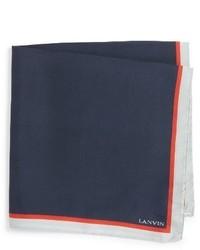 Solid silk pocket square medium 1150088