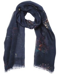 Fireworks cashmere silk wool scarf medium 3733840