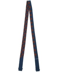 Lanvin Thin Patterned Scarf