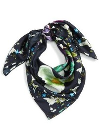 Ted Baker London Evella Entangled Enchantt Square Silk Scarf