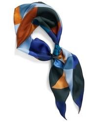 Modern art diamond silk scarf medium 4468545