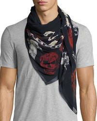 Ransom silk scarf medium 4016155