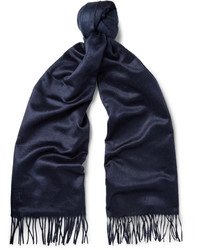 Tod's Two Tone Brushed Silk Scarf