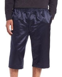 Alexander McQueen Cotton Silk Shorts