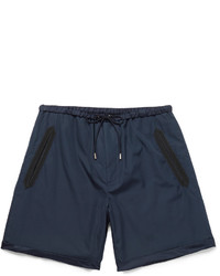 Gucci Silk Faille Trimmed Cotton Shorts
