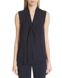 St. John Collection Double Silk Tte Shell