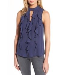 Odyssey sleeveless silk top medium 5209333