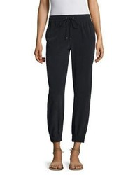 Cortlandt silk jogger pants medium 3703081