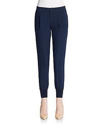 Vince silk jogger pants medium 167641