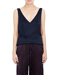 Maiyet Pliss Cross Back Tank
