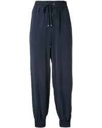 Tapered drawstring trousers medium 3725149