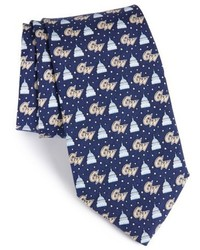 Vineyard Vines George Washington University Silk Tie