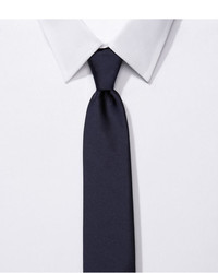 Express Narrow Silk Tie Solid
