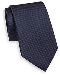 Saint Laurent Neat Dot Silk Tie