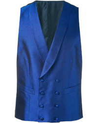 Canali Double Breasted Waistcoat