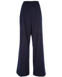Agnona Wide Leg Trouser