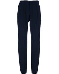 Dusan Straight Leg Silk Trouser
