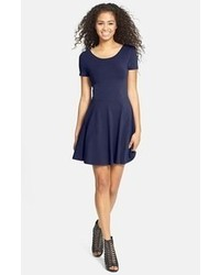Navy skater dress original 1420485
