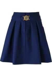 Kenzo Pleated A Line Skirt