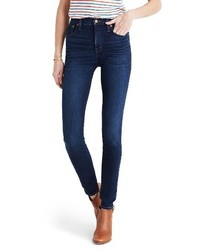 Madewell 10 Inch High Rise Skinny Jeans