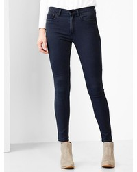 Gap 1969 Silky High Rise Skinny Jeans