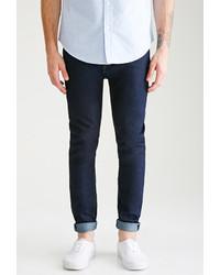 21men 21 Clean Dark Wash Slim Fit Jeans