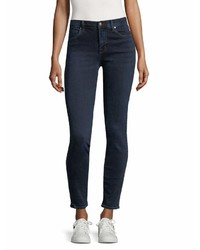 J Brand 620 Mid Rise Super Skinny Jean