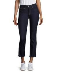 7 For All Mankind B Roxanne Cigarette Ankle Skinny Jeans