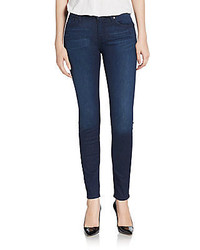 7 For All Mankind Gwenevere Dark Wash Skinny Jeans