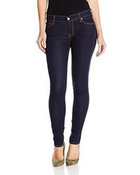 7 For All Mankind Skinny Jean In Rinsed Indigo