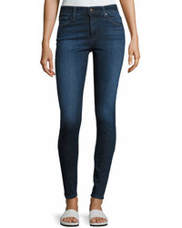 AG Jeans Ag The Farrah High Rise Skinny Jeans Blue