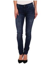 Mavi Jeans Alexa Midrise Skinny In Ink Jegging